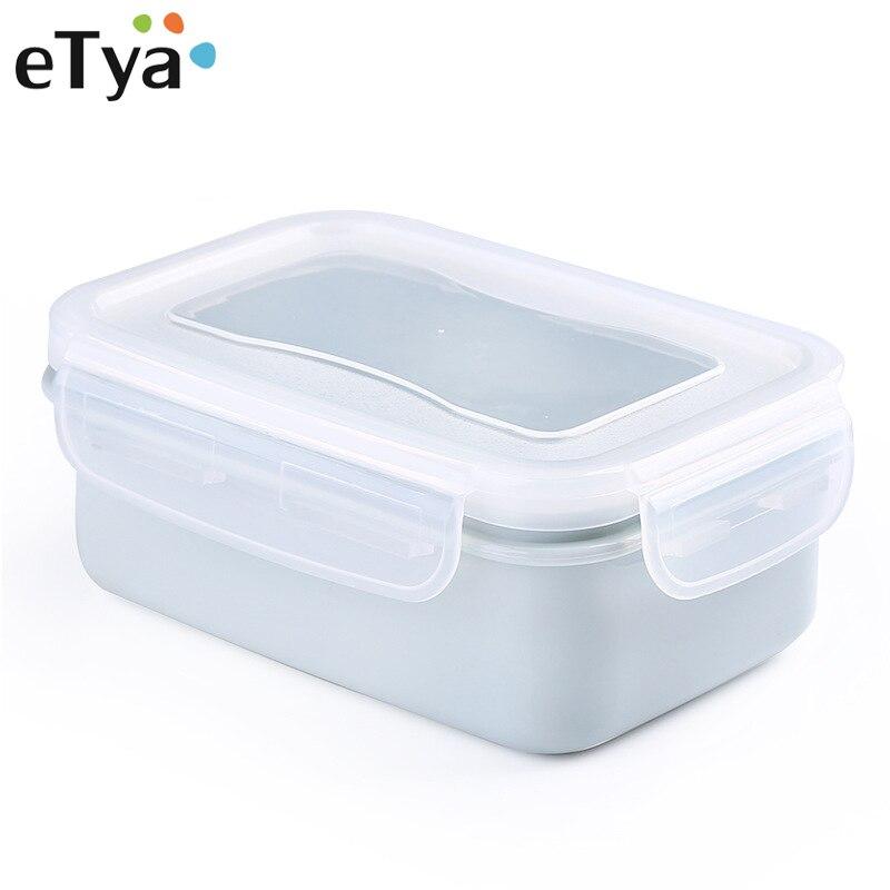 Fashion Style Etya Lunch Box Contenitori Per Alimenti Scatola Di Immagazzinaggio Portatile Per I Bambini Picnic Set Da Picnic Set Di Caso Di Cibo Delle Donne Di Modo Sacchetto Del Pranzo