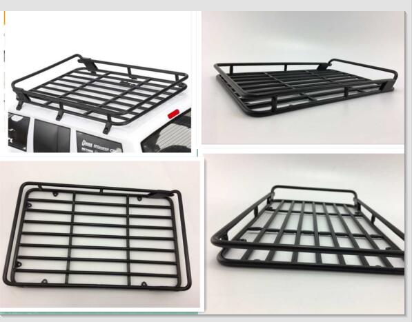 metal jcr offroad roof rack for the axial scx10 ii 2000 jeep cherokee kit ax31395 ax90046. Black Bedroom Furniture Sets. Home Design Ideas