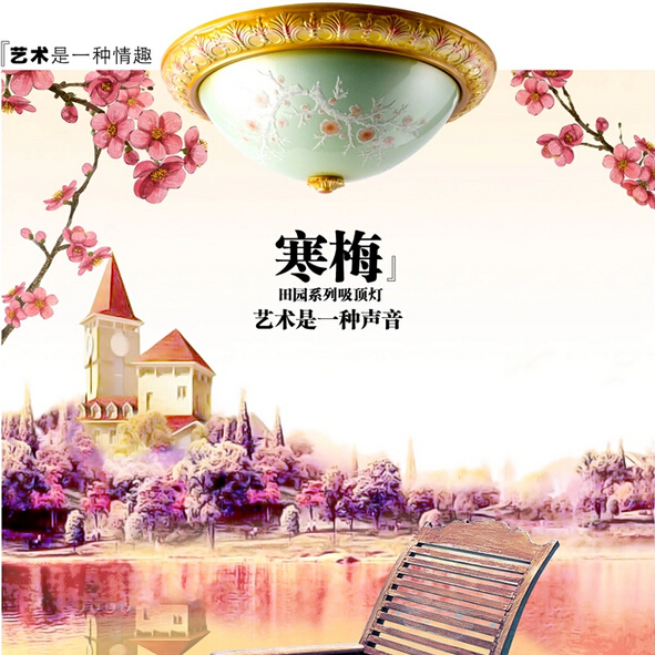 Free shipping 12w modern led ceiling light living room Diameter 300mm hand painting free shipping led ceiling panel light 12w diameter 300mm hand painting