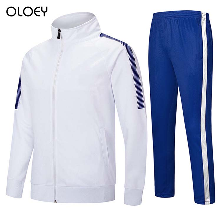 Football Training Tracksuit Men Women Team Sport Suit Mens Sweat Suit Zip Sweatshirt Pants Soccer Sweat Suits Jogging Men Set