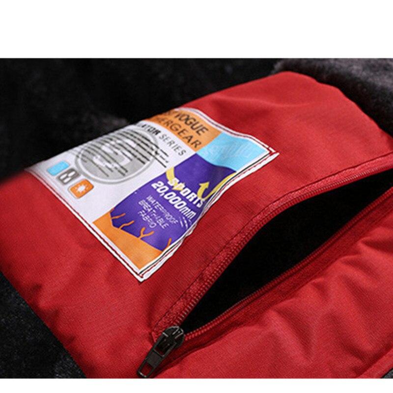 Meilleur laine Liner chaud hommes Camping randonnée en plein air veste d'hiver femmes, unisexe coupe-vent imperméable coupe-vent femmes veste en plein air - 6