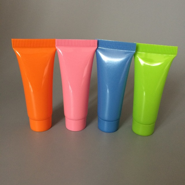 100pcs/lot 5ml, 10ml Soft Tubes Empty Cosmetic Cream Emulsion Lotion Packaging Containers Shampoo Shower Gel Packing Tube