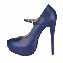 2019 Real Sale Lolita Shoes Women Mujer Strap Round Toe Platform Office Prom Work Super Heels High Heel Shoes For Ladies Pumps