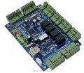20 K USUARIOS RS485 Red Cuatro 4 Tarjeta de soporte de Controlador de Acceso de la Puerta RFID Wiegand 26 lector