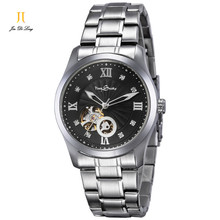 Brand Classic Fashion Business Casual Watch Men Automatic Watch Flywheel Hollow Out Clock Diamond Waterproof Wristwatch