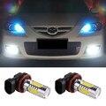 2 pcs Levou H11 COB Iluminação 7.5 W Car Fog Lâmpada Luz de Condução lâmpada Para mazda cx 3 6 5 atenza axela Acessórios Do Carro