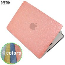 Shine Glitter Hard Laptop Case Voor Macbook Pro Retina Air 11 12 13 15,2018 Voor Mac Air/Pro 13 15 Inch A1466 A1708 A1932 Shell(China)