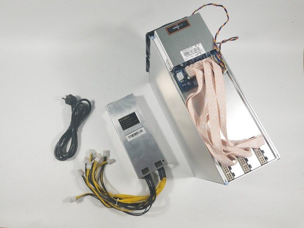 Asic Ethash Ethereum Eth Miner Antminer E3 190mh/s Mit Netzteil Bergbau Eth Etc Besser Als 6 8 12 Gpu Miner S9 Z9 S15 Z11
