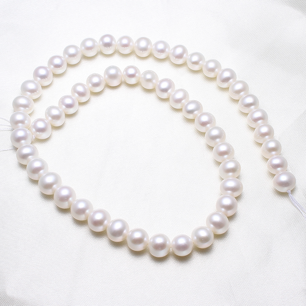 Potato Cultured Freshwater Pearl Beads,Fashion Jewelry in Bulk, natural, white, 8-9mm Sold Per Approx 15.5 Inch Strand wholesale mix color volcanic rock natural lava beads hole approx 1mm length approx 61 inch 4 6 8 10 12 12mm