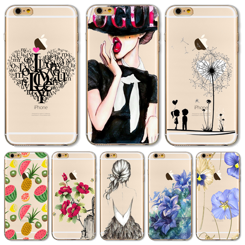SE Soft TPU Case Cover For Apple iPhone SE Cases Phone Shell Fashion Women  Elegant Sailing Beautiful Hot Sales! a6ac9d76a7