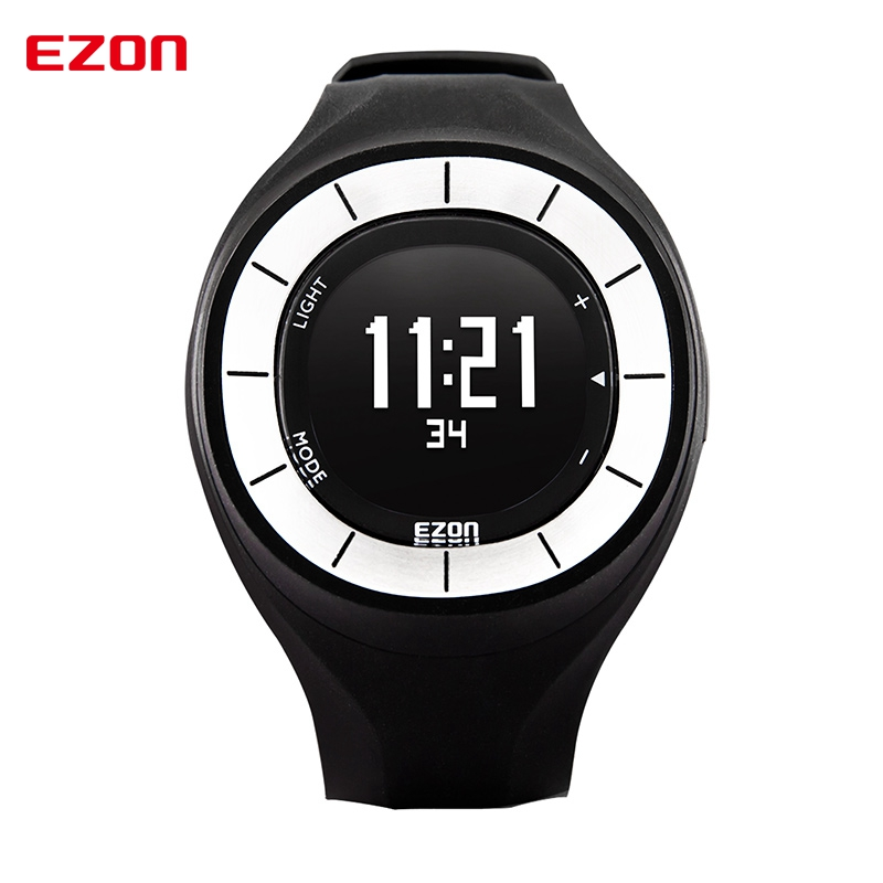 EZON Women Sport Watch Ladies Waterproof Digital Watch Running Pedometer Calorie Counter Fitness Clock Saat Relogio Feminino new ezon t043 optical sensor heart rate monitor pedometer calorie counter digital sport watch powerd by philips wearable sensing