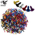 30 pcs unviersal colorful motocross Off-road moto decals car style home renovation motorbike tip screw fixed motorcycle screw