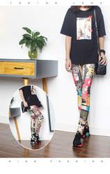 Модные леггинсы, сексуальные, повседневные, очень эластичные и цветные гетры, подходят для большинства размеров, леггинсы, брюки, женские