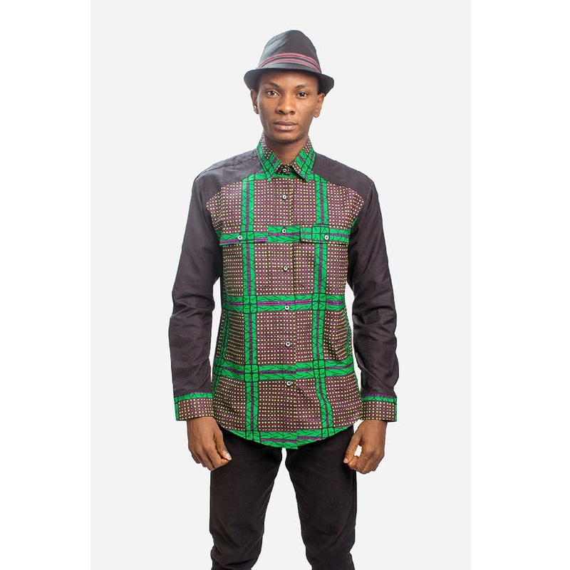 <font><b>African</b></font> fashion <font><b>men</b></font> dashiki <font><b>shirts</b></font> black/<font><b>wax</b></font> <font><b>African</b></font> clothes patchwork <font><b>shirt</b></font> print long sleeve stand collar <font><b>shirt</b></font> customized image