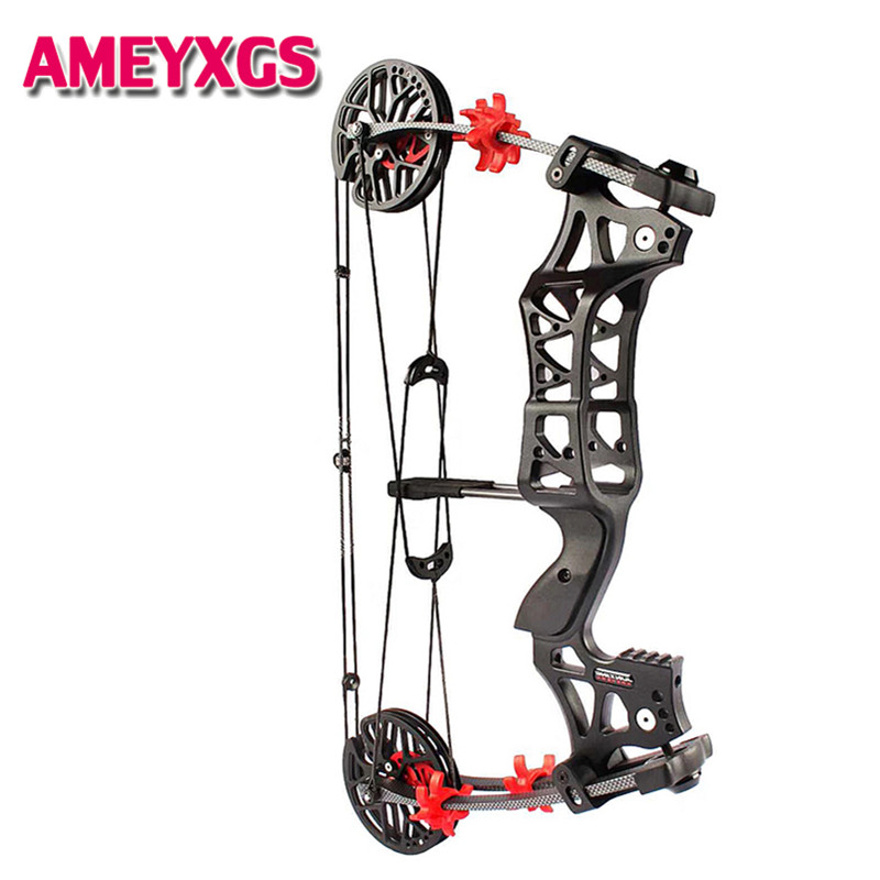 1 Set M109E 30 60lbs Compound Bow Precision Steel Ball Bow Left/Right Hand For Outdoor Hunting Shooting Archery Accessories