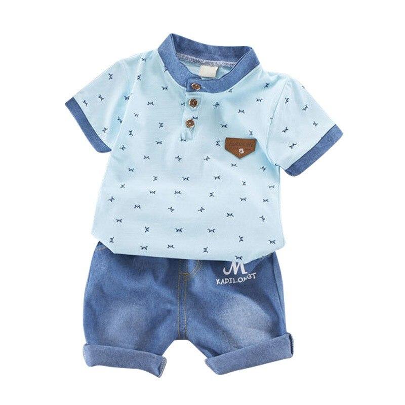 T-shirt dla chłopców Noworodek Baby Boy Ubrania Zestaw T-shirt z - Ubrania dziecięce - Zdjęcie 5