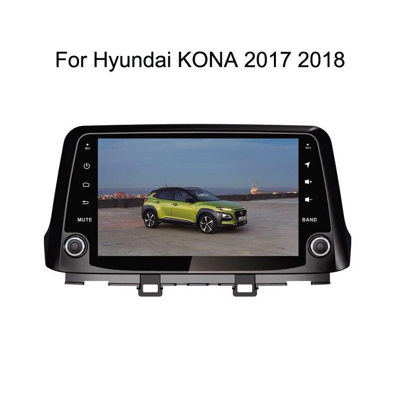 Android 9 0 Octa Core PX5/PX6 Fit Hyundai KONA 2017 2018 2019 Car DVD  Player Navigation GPS Radio