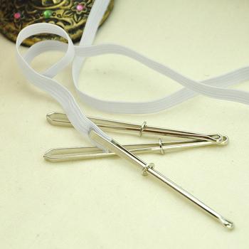 2 sztuk wysokiej jakości odzieży klipy do szycia narzędzia DIY elastyczna taśma cios Cross stitch praktyczne nosić elastyczne zacisk (zużycie liny) tanie i dobre opinie CN (pochodzenie) Typu U Metal STAINLESS STEEL Spodnie 102405 CLIPS