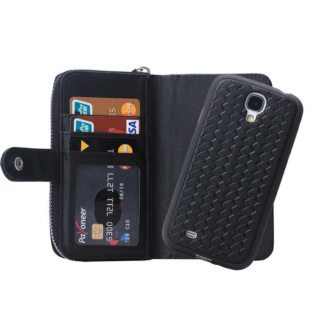 Phone Phone Cases Android android smartphone cases promotion shop for promotional weaver luxury leather phone cover samsung galaxy s4 case mobile bag 189