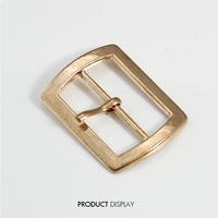 Metal Rectangle Gold Tone Plated Belt Buckle 32x25mm For Bags Clothes Belt Sewing Hooks Clips Sewing Supplies 100piece /K173