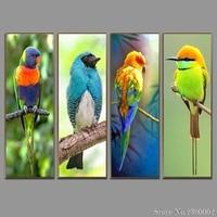 Animal Pattern Diamond Embroidery DIY Needlework 5D Diamond Painting Cross Stitch Bird Parrot Full Rhinestones Home