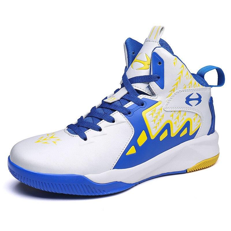 Chaussures pour hommes chaussures de basket-ball bottines en plein air athlétiques hommes chaussures à lacets résistant à l'usure chaussures de Sport athlétiques