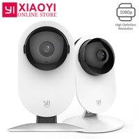 2 шт. YI 1080 P домашняя камера ip камера беспроводная камера безопасности Детский монитор Мини 3D Шумоподавление для Xiaomi Xiaoyi Wifi камера