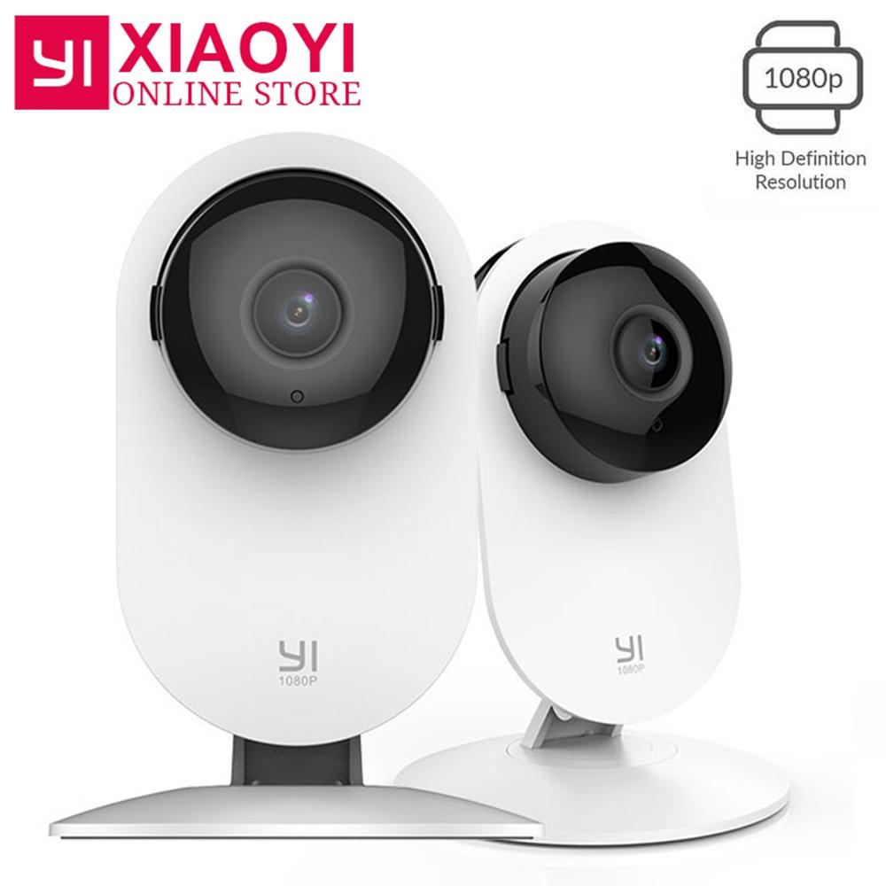 2 pcs YI 1080 p Caméra IP Caméra Sans Fil Caméra de Sécurité Bébé Moniteur Mini 3D Réduction Du Bruit Pour Xiaomi xiaoyi Wifi Caméra