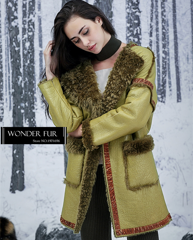 Sheepskin Dniran Overcoat discount