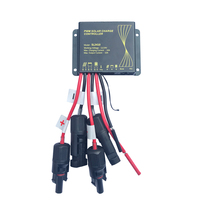 Solar Charge Controller 12V Waterproof IP68 Solar Panel Battery Charge Controller with MC4 Outdoor Use For Solar PV System