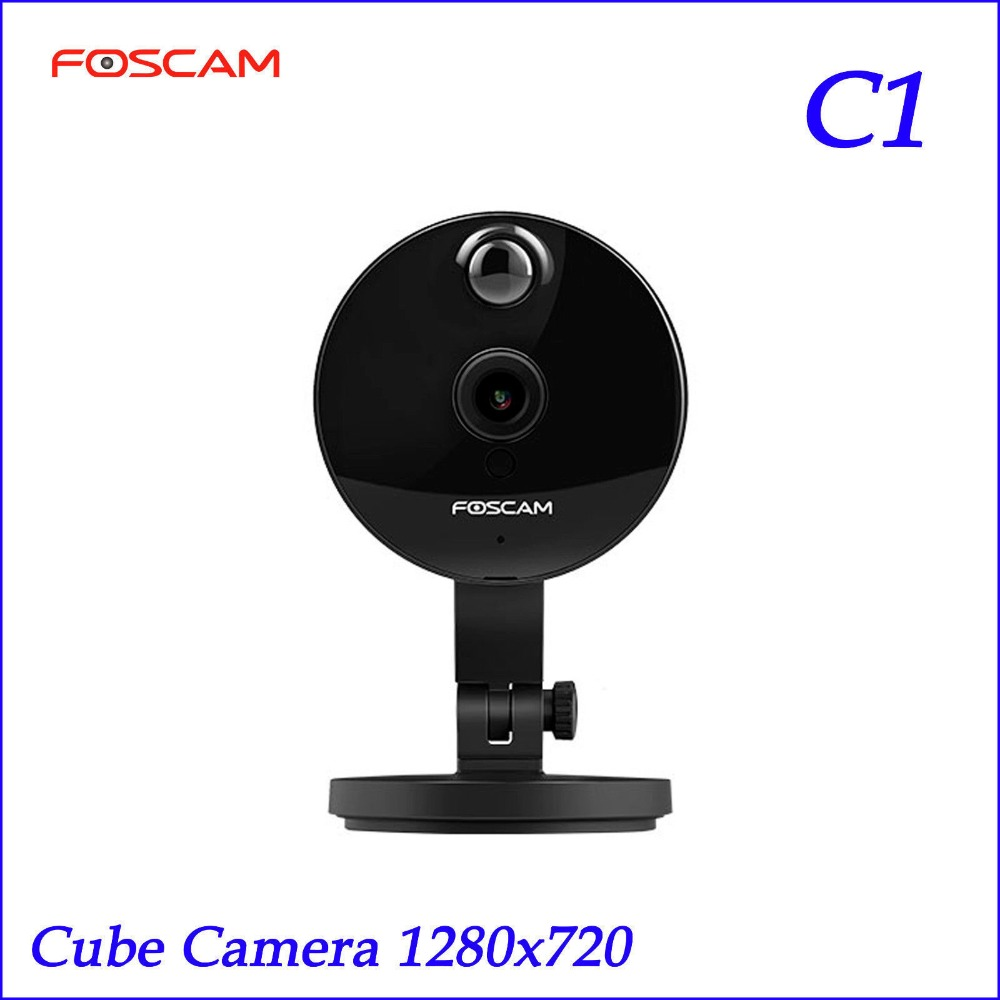Foscam C1 IP Camera Wireless 720P HD CCTV Indoor Security Camera with Night Vision Motion Detection Alerts 2-Way Audio howell wireless security hd 960p wifi ip camera p2p pan tilt motion detection video baby monitor 2 way audio and ir night vision