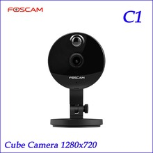 Original Foscam C1 720P HD IR Wireless P2P  IP Camera Night Vision Wide 115 Degree View Angle