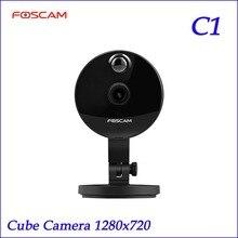 D'origine Foscam C1 720 P HD IR Sans Fil P2P IP Caméra Night Vision Large 115 Degrés Angle de Vue
