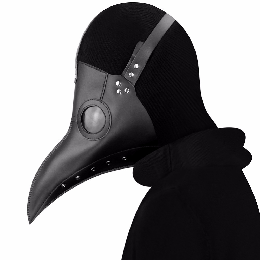 Plague Doctor Cosplay Costumes Steampunk Bird Mask Costume Fancy Dress Masks Halloween Party