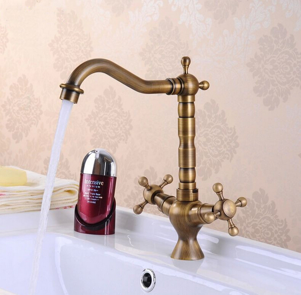fashion Anti bronze finished Hot and Cold Brass Sink Faucet Bathroom Basin Faucet basin mixerfashion Anti bronze finished Hot and Cold Brass Sink Faucet Bathroom Basin Faucet basin mixer