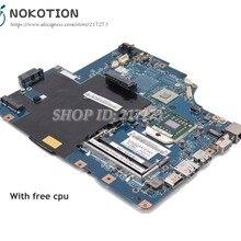 NOKOTION для lenovo G565 Z565 Материнская плата ноутбука LA-5754P основная плата 11S69038329 разъем S1 DDR3 с бесплатным процессором
