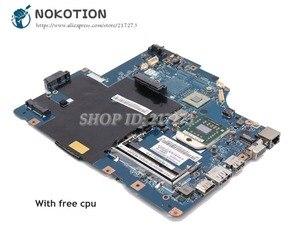 NOKOTION dla Lenovo G565 Z565 laptopa płyty głównej płyta główna w LA-5754P płyta główna 11S69038329 gniazdo S1 DDR3 z bezpłatnym CPU