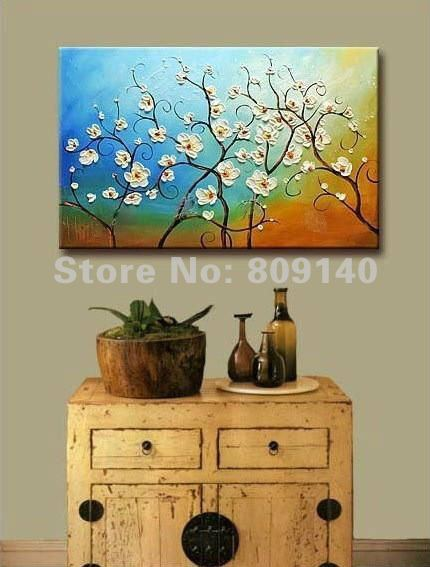 Free Shipping Painting Oil Painting Abstract Flower
