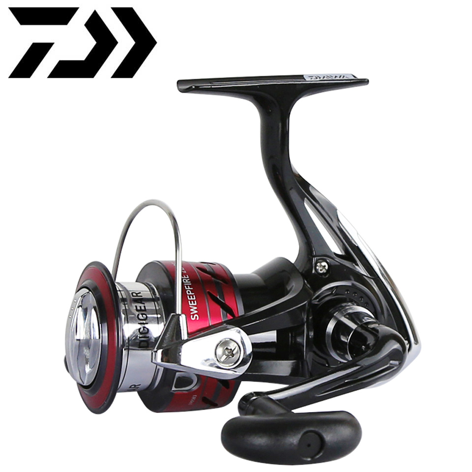 DAIWA Reel SWEEPFIRE CS Spinning Fishing Reel 1500-5000 ABS Metail Spool 2-8KG Power Hard Gear