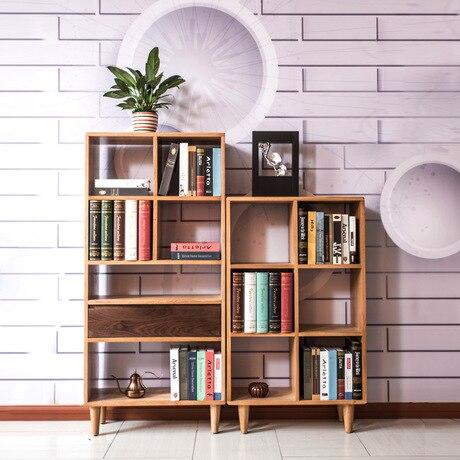 Moderne Eiken Boekenkast.Boekenkast Woonkamer Meubels Meubelen Eiken Massief Hout Boekenplank