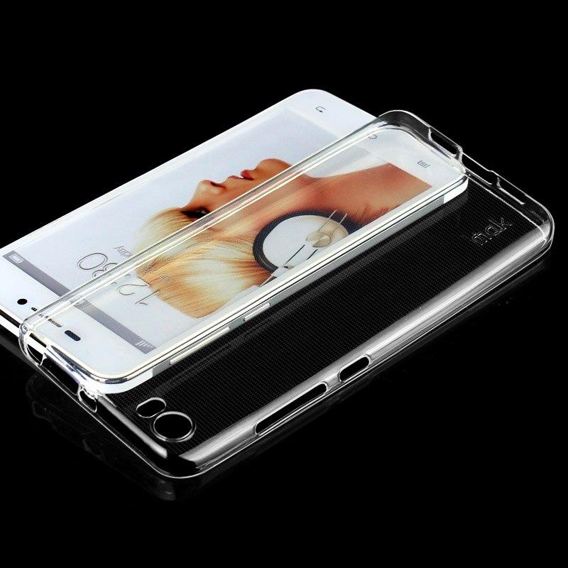 Galleria fotografica For Xiaomi Mi5 Case IMAK Ultra Thin Soft TPU Clear Back Cover Phone Bags Cases For Xiaomi Mi 5