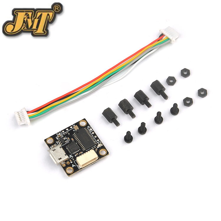 Super_S F3 Flight Control Integrated OSD built-in 5V BEC for Indoor Brushless FPV Racing Drone Quadcopter betaflight omnibus f4 flight controller built in osd power supply module bec for fpv quadcopter drone accessories fpv aerial pho