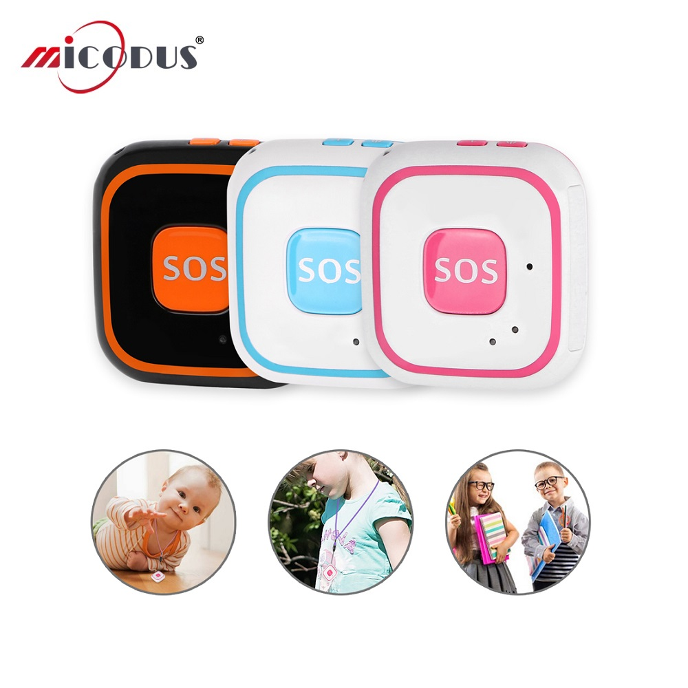 Mini GPS Tracker Children GPS WIFI Two Way Calls Realtime Tracking LBS Locator RF-V28 SOS Alarm GSM Voice Monitor Free Web APP image