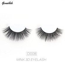 1 pair 3D Handmade Mink Eyelashes individual  Natural False Eyelashes for Beauty Makeup fake Eye Lashes Extension-A12 недорого