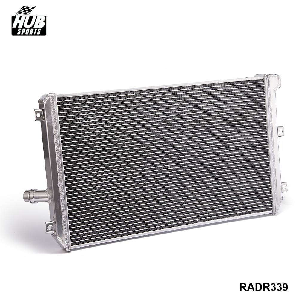 Full Aluminum 2-Row/Core Racing Cooling Radiator MT For VW Golf GTI/MK5/A5 HU-R339RAD epman 42mm 2 row aluminum radiator for nissan skyline r33 r34 gtr gtst rb25det mt ep r106rad