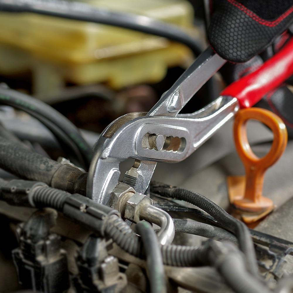WORKPRO 4PC Plier Set Groove Joint Pliers Diagnoal Pliers Water Pump Plier Wire pliers