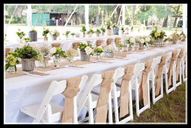 5cm30m natural burlap wreath natural jute burlap ribbon craft gift wrap decoration mariage rustic - Aliexpress Decoration Mariage