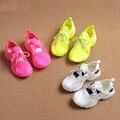 Sapatos 2016 infantis para meninos e meninas doces coloridos tênis leves tênis de corrida respirável sapatos estudante tênis para Meninas