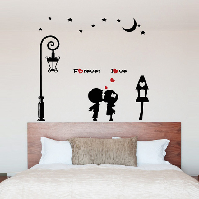 Superior You Can Love A Warm Living Room Backdrop Bedroom Wall Painting Removed Wall  Stickers Wallpaper Wall