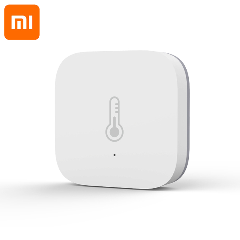 Original Xiaomi AQara Smart Temperature Humidity Sensor , ZigBee Wifi Wireless Work With xiaomi smart home mijia Mi home App-in Smart Remote Control from Consumer Electronics